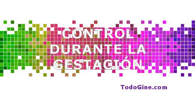 Control durante la gestación