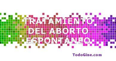 Tratamiento del aborto espontáneo