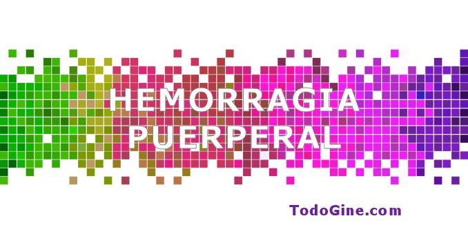 Hemorragia puerperal